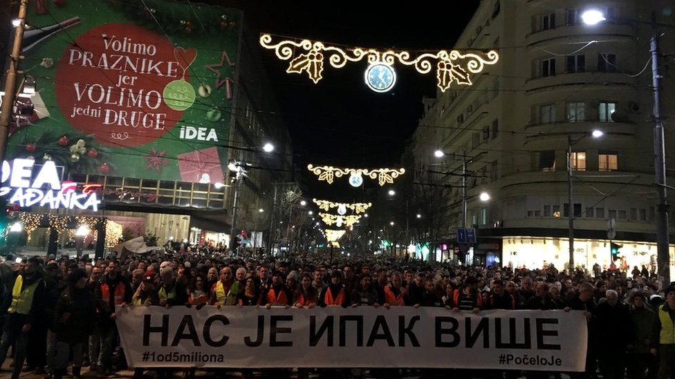 protest, godišnjica smrti Olivera Ivanovića, 16. januar
