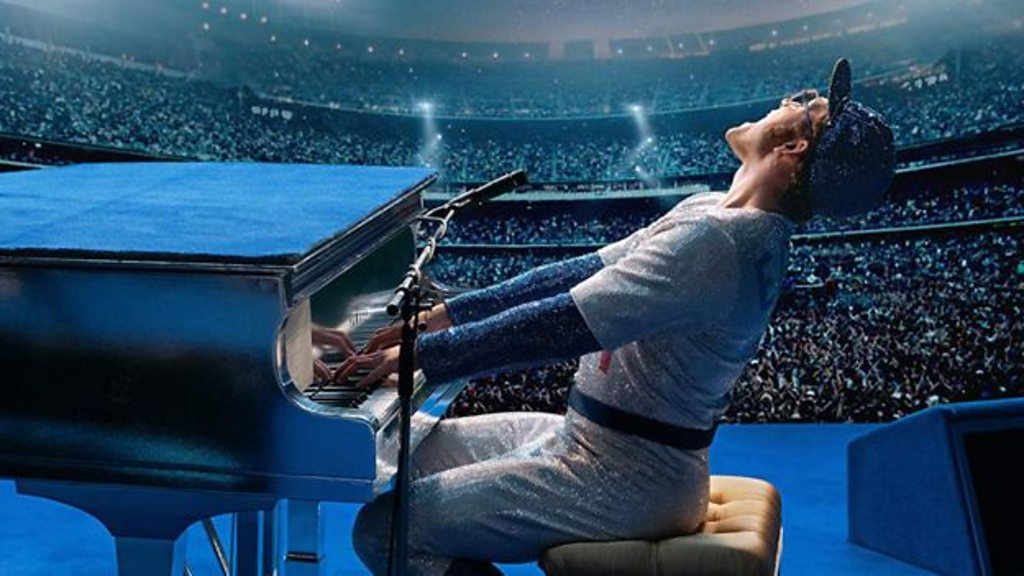Rocketman premiere 'emotional' for Elton John
