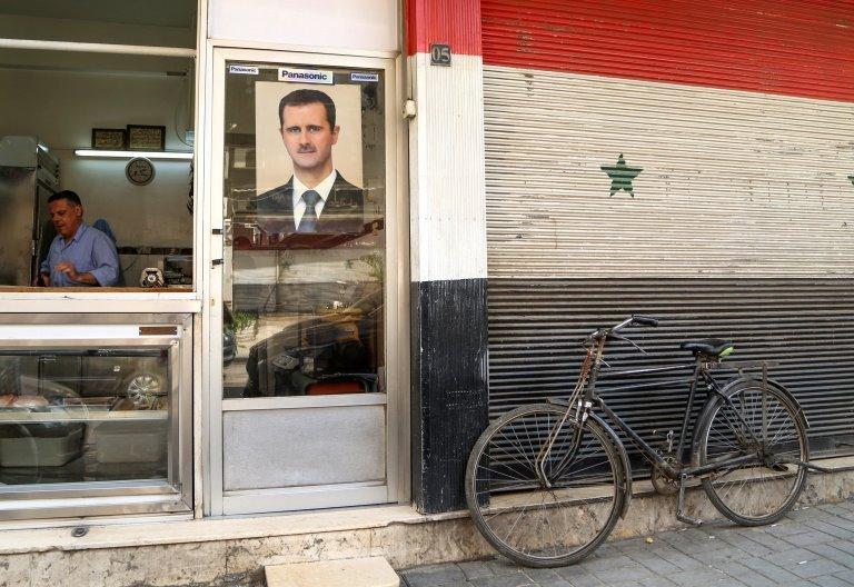 Beşar Esad posteri
