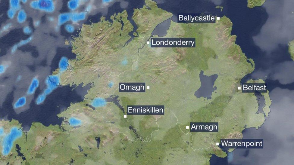 Northern Ireland forecast - your 24-hour lookahead