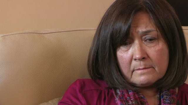 Nargess Sadjady who was tricked out of £12,000 in a telephone scam