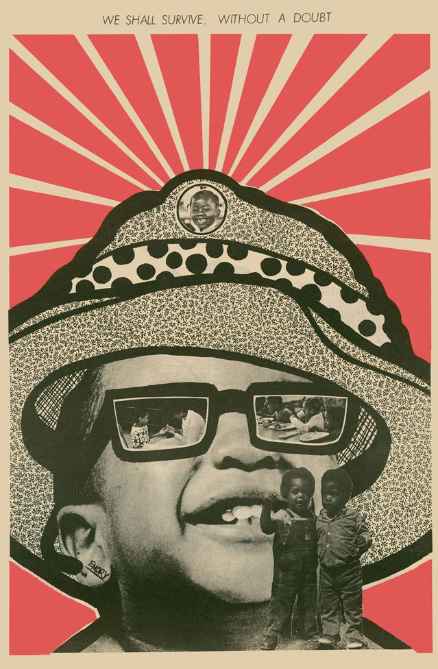 We Shall Survive Without a Doubt by Emory Douglas