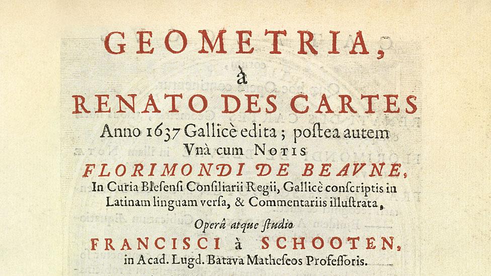 Libro de Renato des Cartes