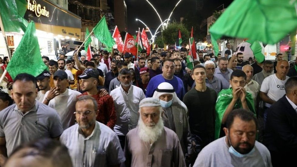"""Palestinians celebrated the escape, with militant groups describing it as a """"heroic act"""""""