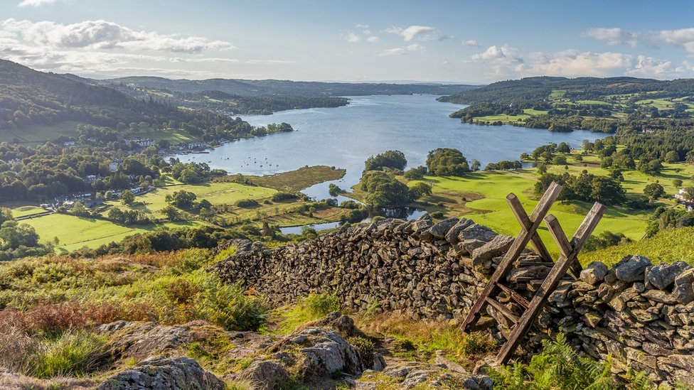 Windermere in the Lake District