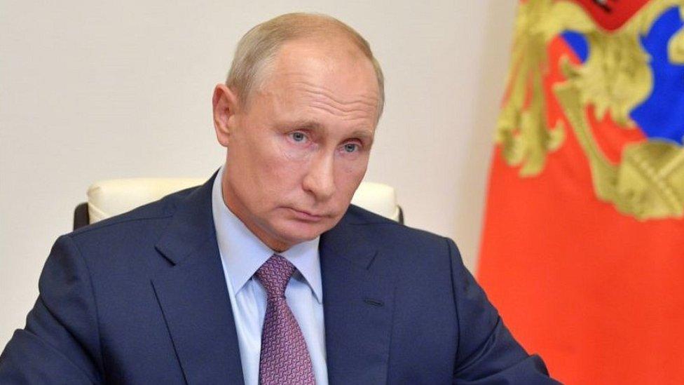 President Vladimir Putin, 2 Jul 20