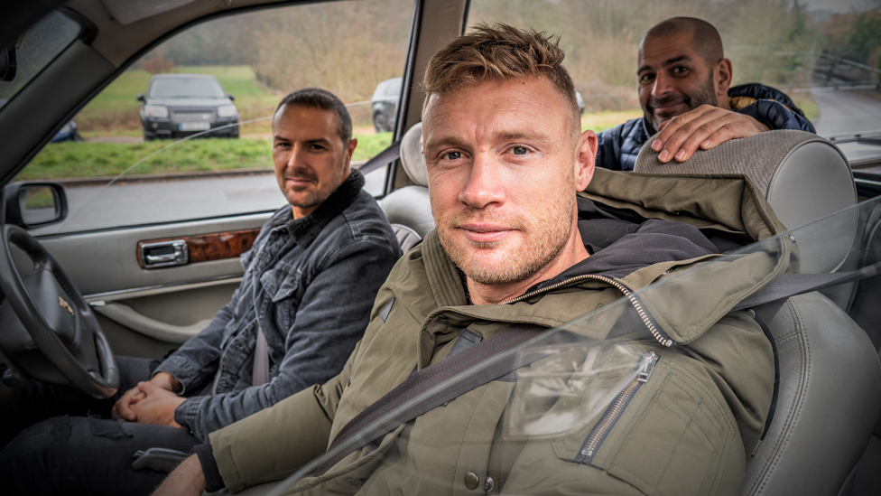 Flintoff and McGuinness on the 'pressure' of Top Gear