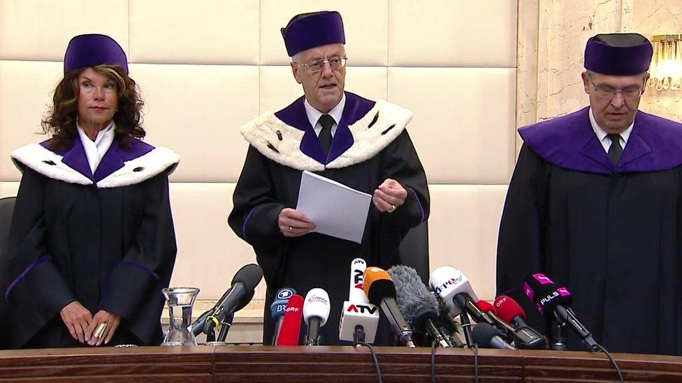 Constitutional Court officials