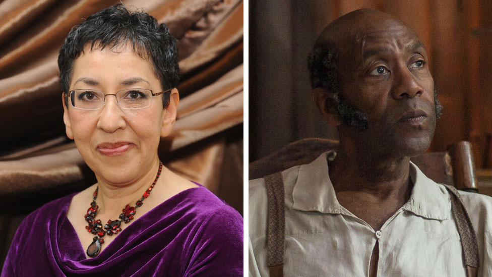 Andrea Levy and Lenny Henry