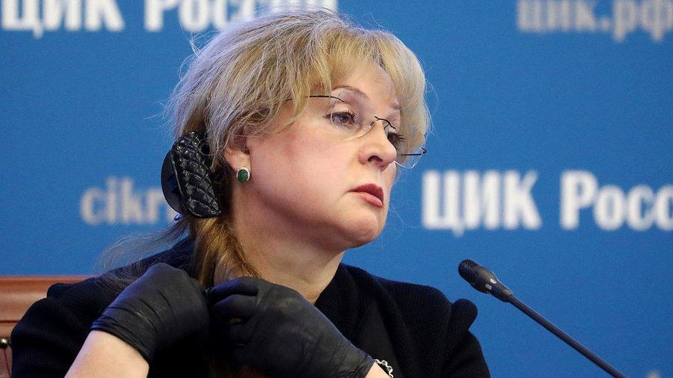 إيلا بامفيلوفا، رئيسة اللجنة المركزية للانتخابات