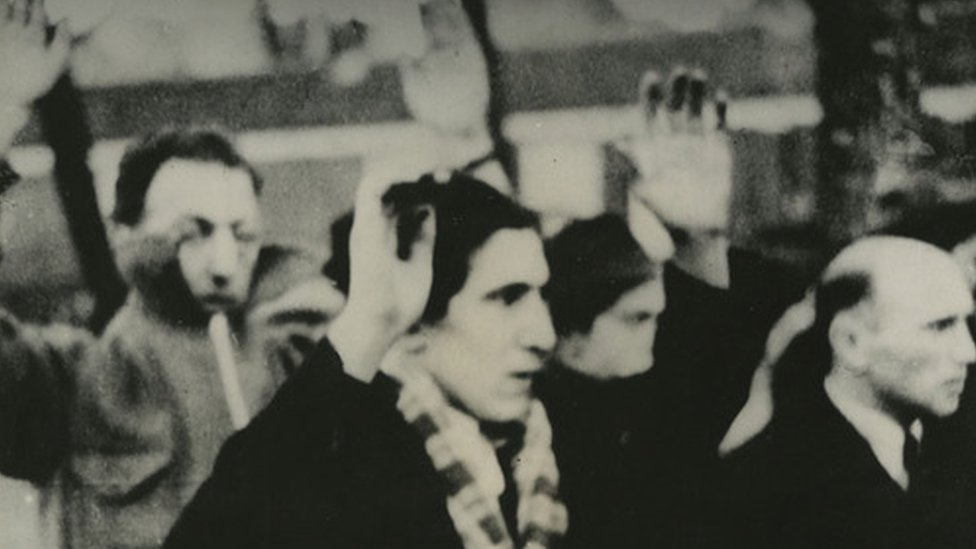Amsterdam Jews were arrested and deported in a February 1941 raid