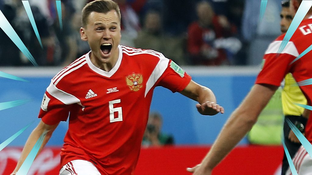 World Cup 2018: Russia 3-1 Egypt highlights