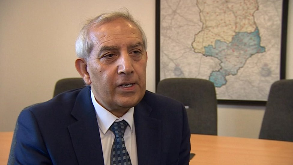 Derbyshire Police and Crime Commissioner Hardyal Dhindsa