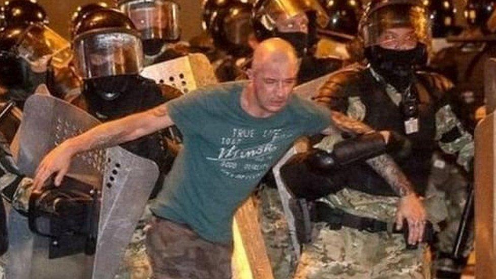 Joven arrestado