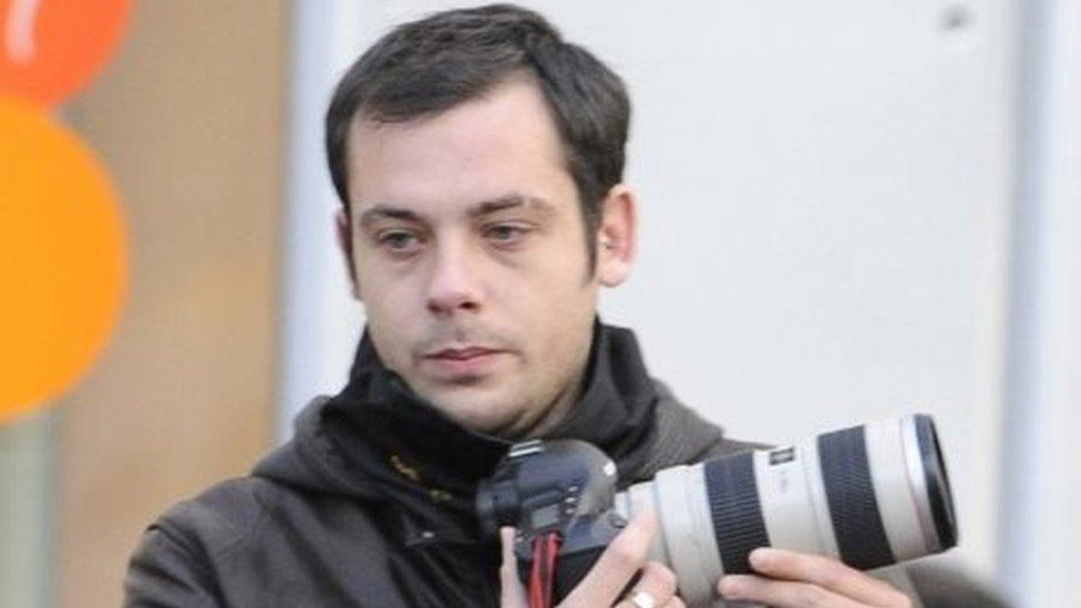 French photographer Remi Ochlik