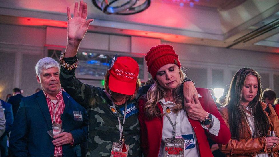 Votantes republicanos.