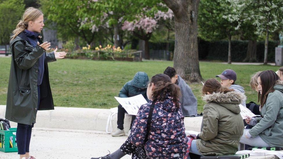 Estudiantes en Dinamarca