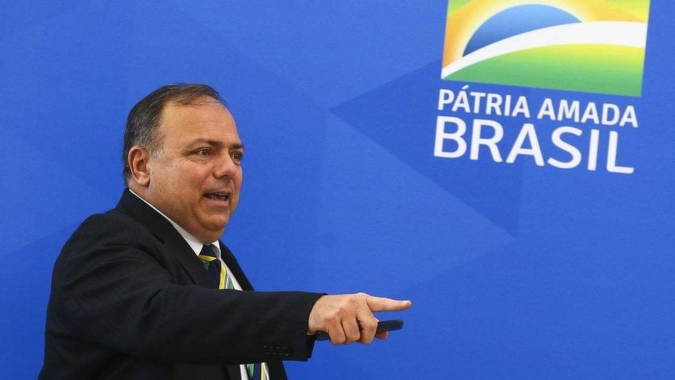 Ministro de Saúde, Eduardo Pazuello