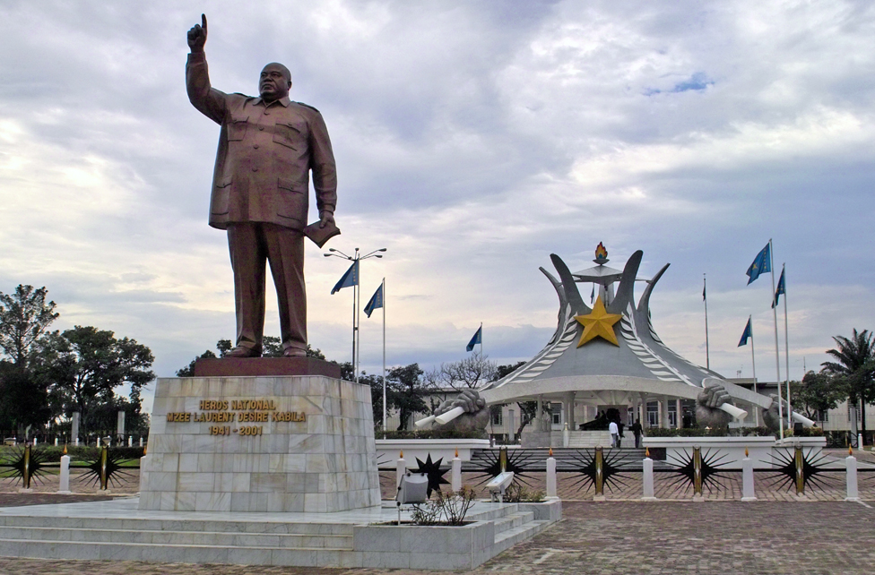 Statue of Laurent Kabila