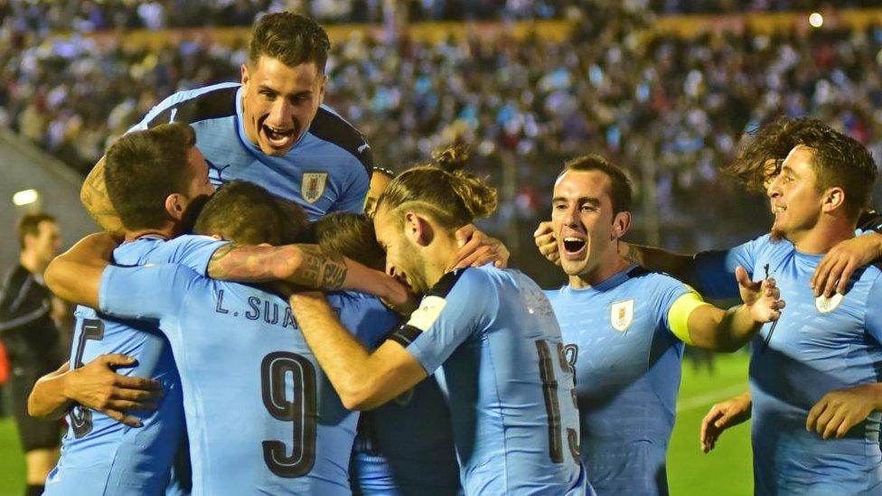 یوراگوئے فٹبال ٹیم