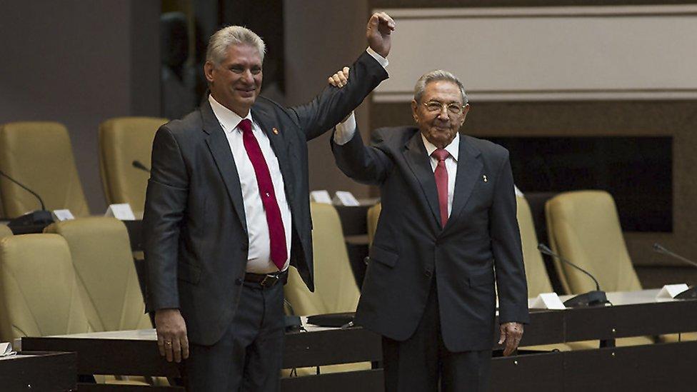 Kuba, Castro, Ral Castro, Miguel Daz-Canel, Kuba