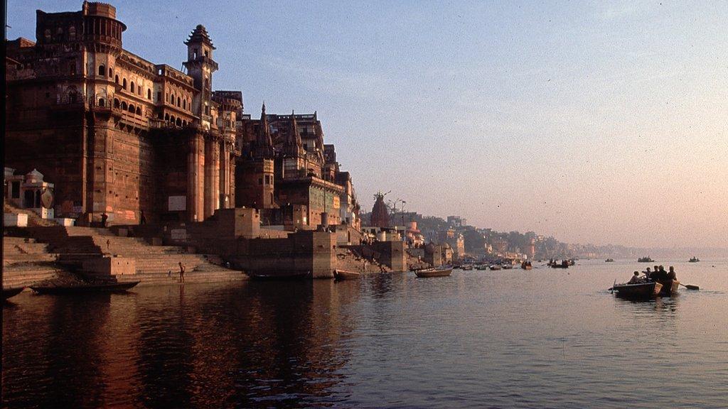 نهر الغانج عام 1998