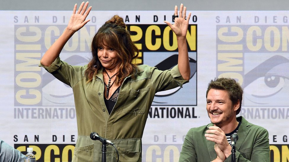 Halle Berry and Pedro Pascal