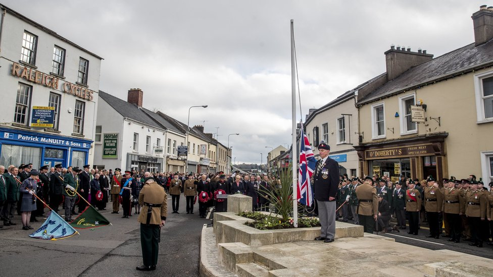 Remembrance Sunday in Enniskillen