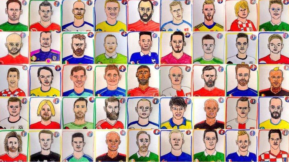 Dibujos de la Eurocopa 2016