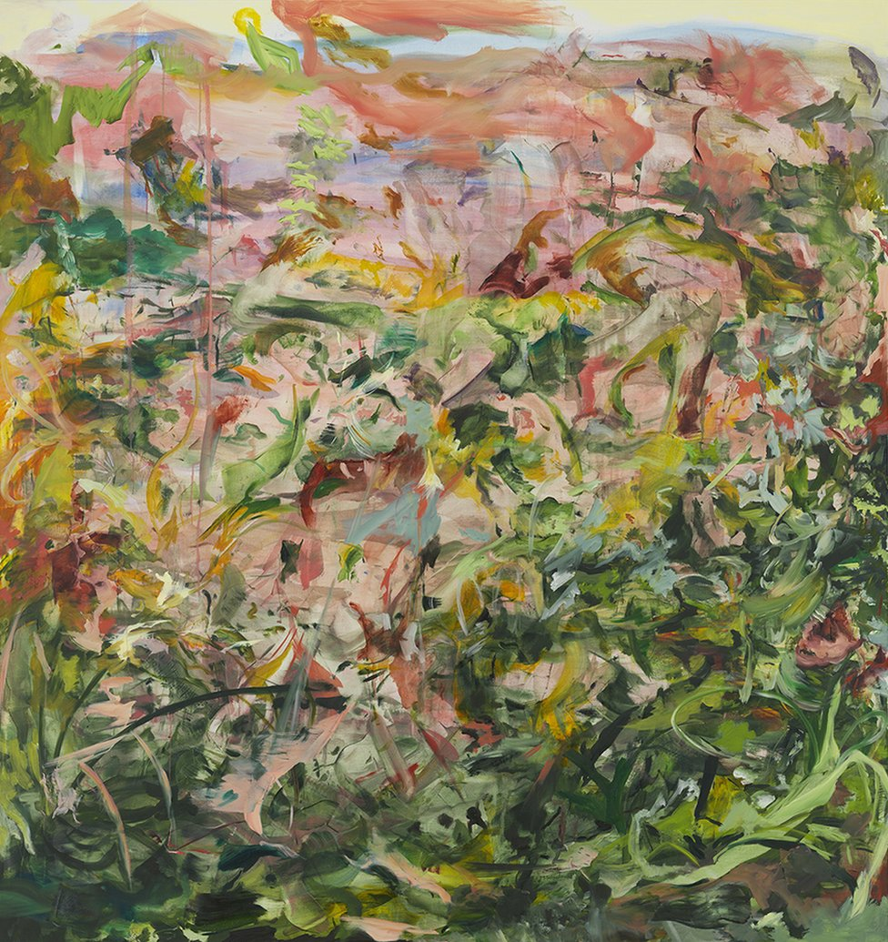 Shepherd's Delight, 2019, by Cecily Brown