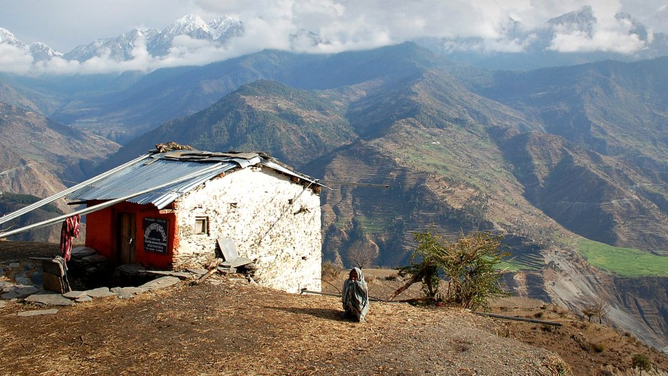 Remote area of Nepal