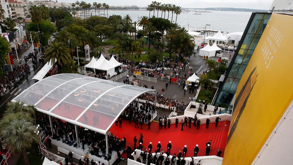 Cannes Film Festival: red carpet