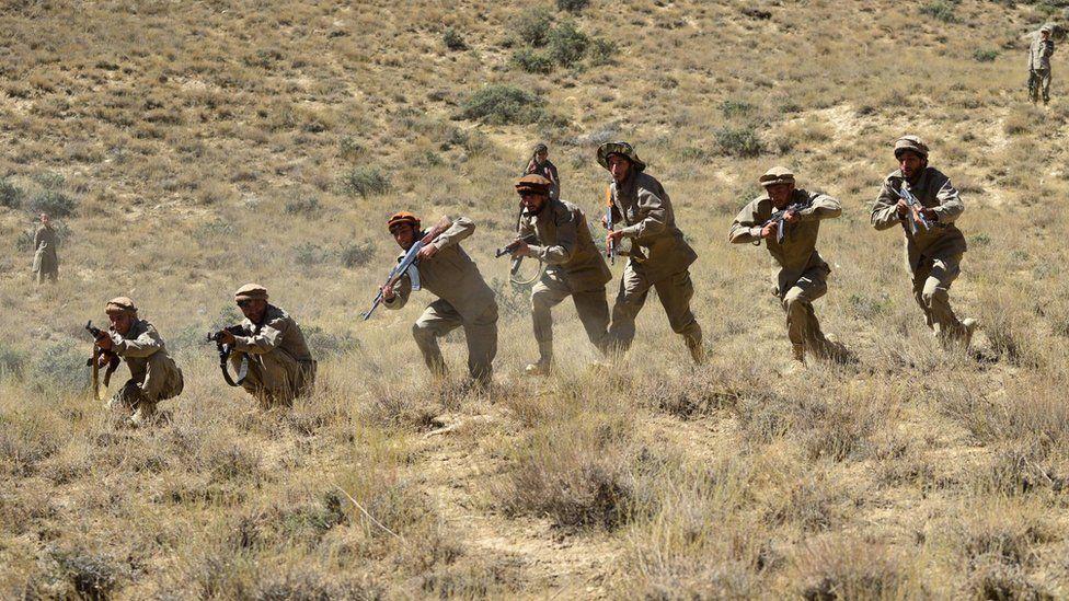 مقاتلون في وادي بانشير