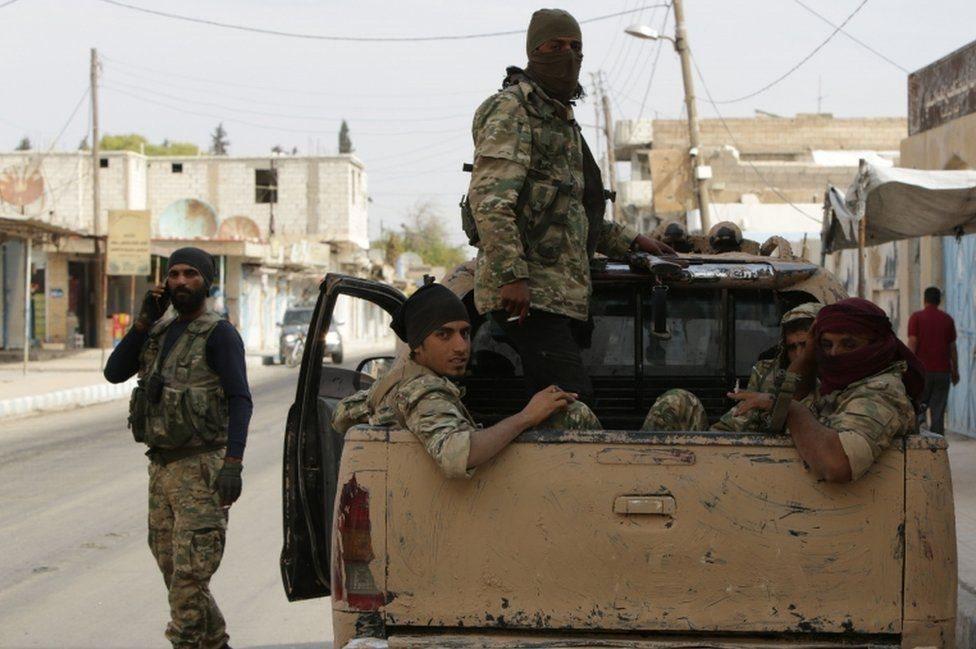 دفعت الولايات المتحدة تركيا وحلفائها إلى وقف الهجمات شمال شرقي سوريا
