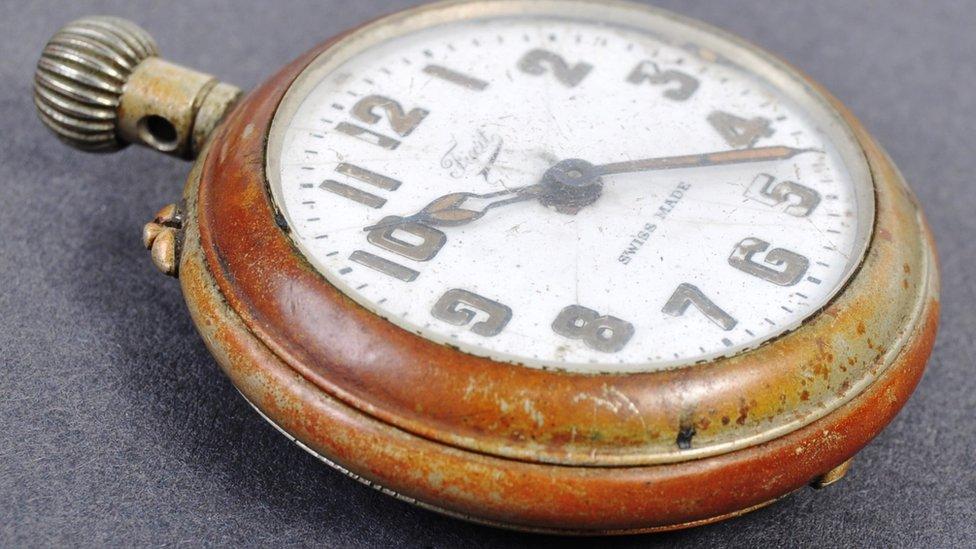 Gandhi's pocket watch