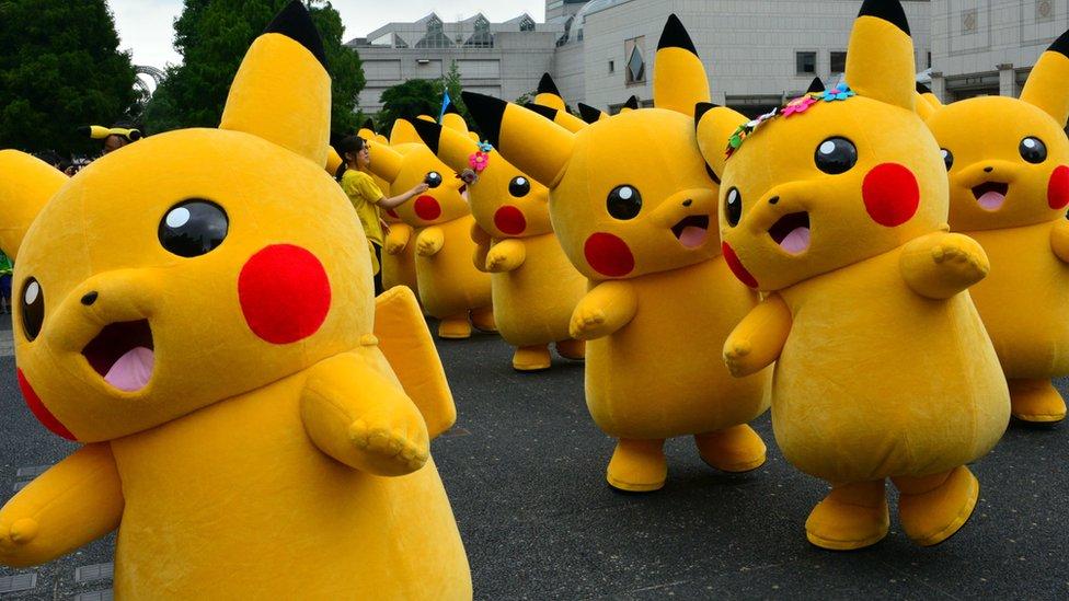 Pikachu's