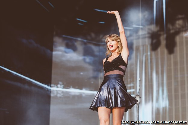 Taylor Swift And Friends Leave Their Mark On Hyde Park Bbc News