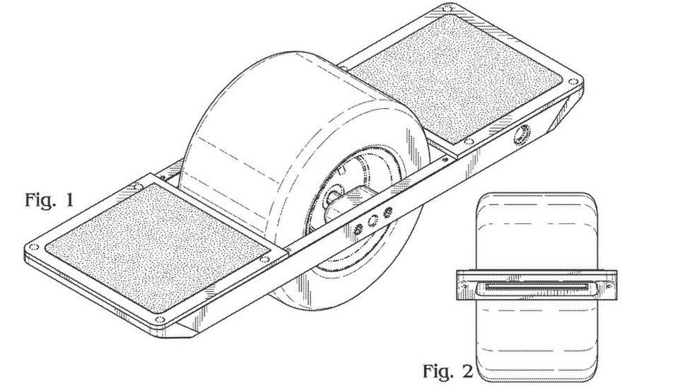 Onewheel patent