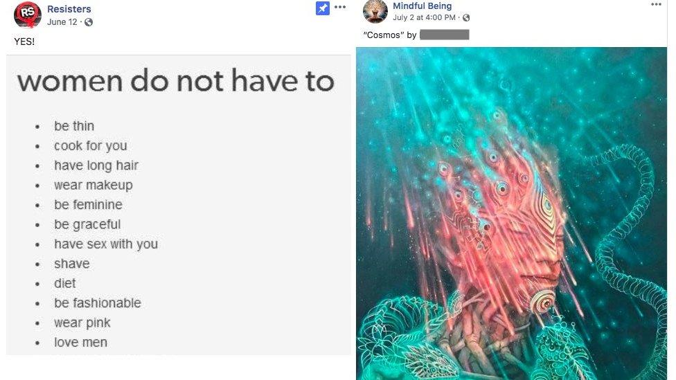 Publicación de Facebook.