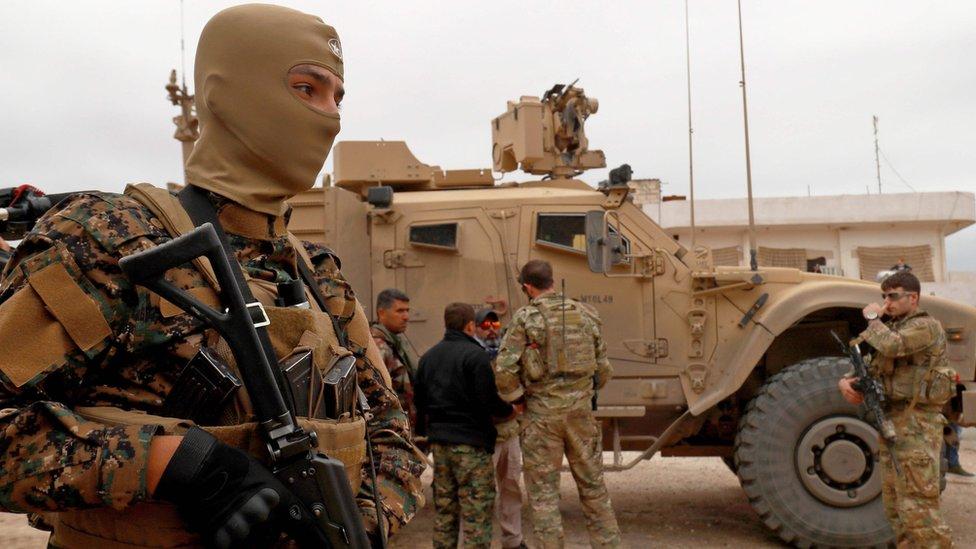 američke trupe u Siriji