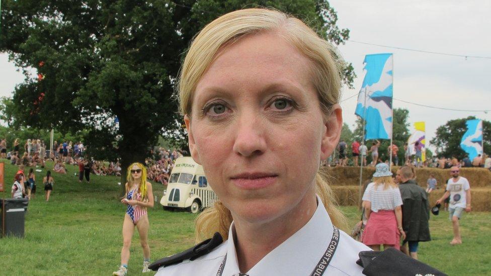 Superintendent Laura Hunt