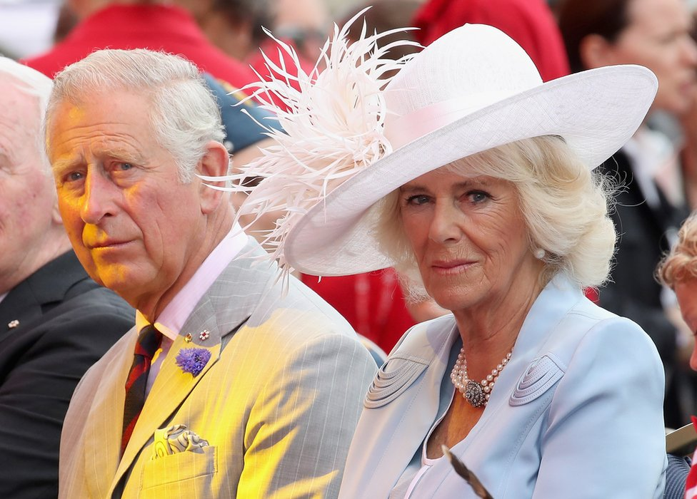 Prince Charles and Camilla, Duchess of Cornwall during their official visit to Canada in July 2017