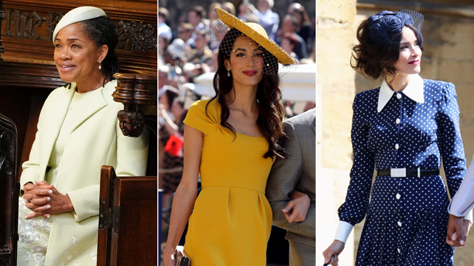 Royal wedding: Who wore what on Harry and Meghan's big day?