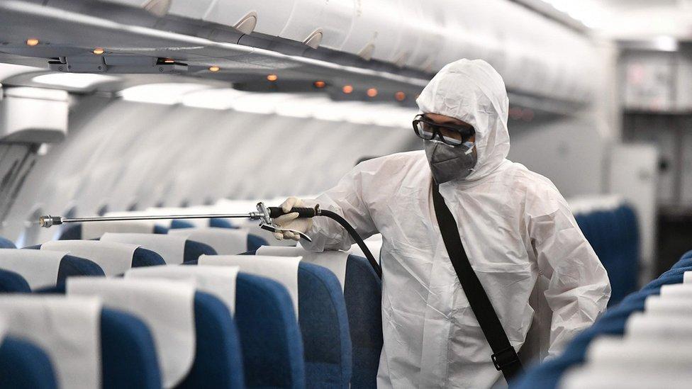 Dezinfekcija aviona