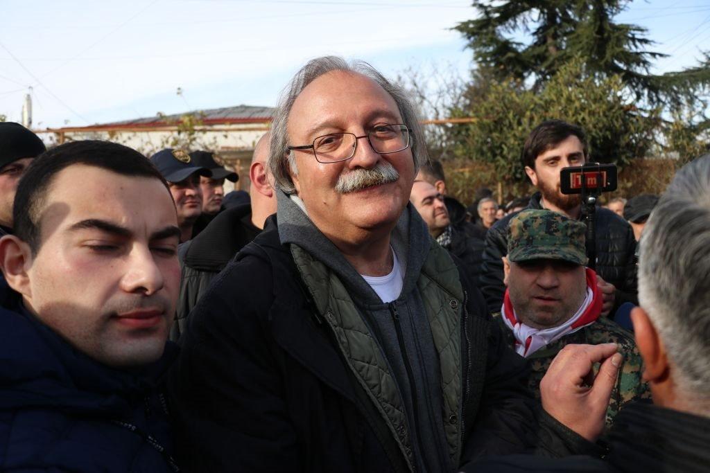 رئيس المعارضة الجورجية غريغول فاشادزي