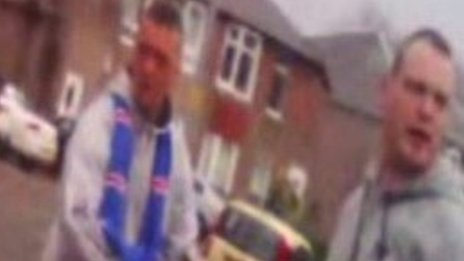 CCTV appeal launched after Glasgow parking attendant attacks