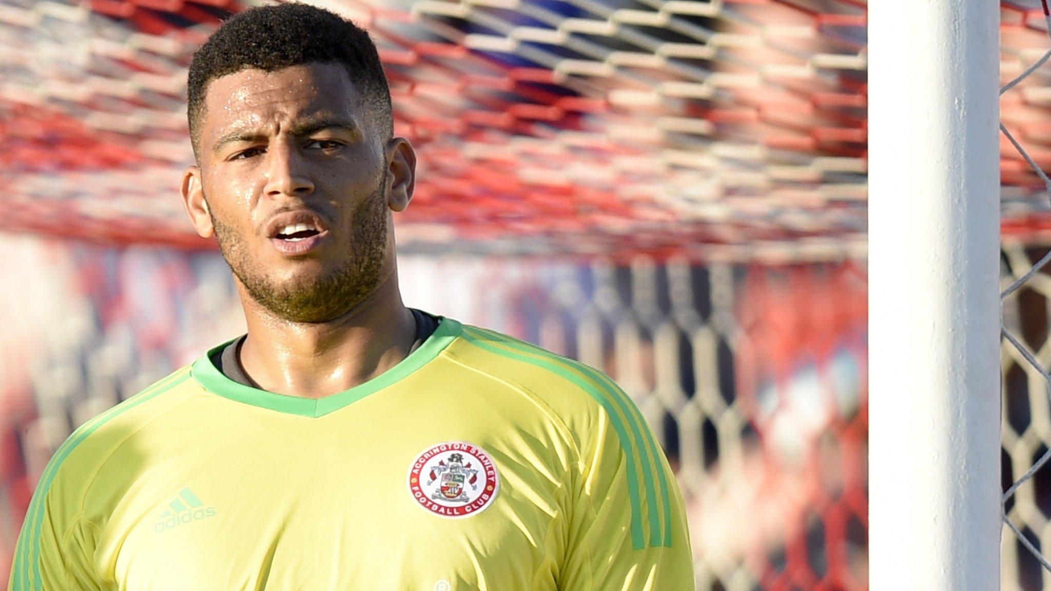 Aaron Chapman: Peterborough sign Accrington goalkeeper