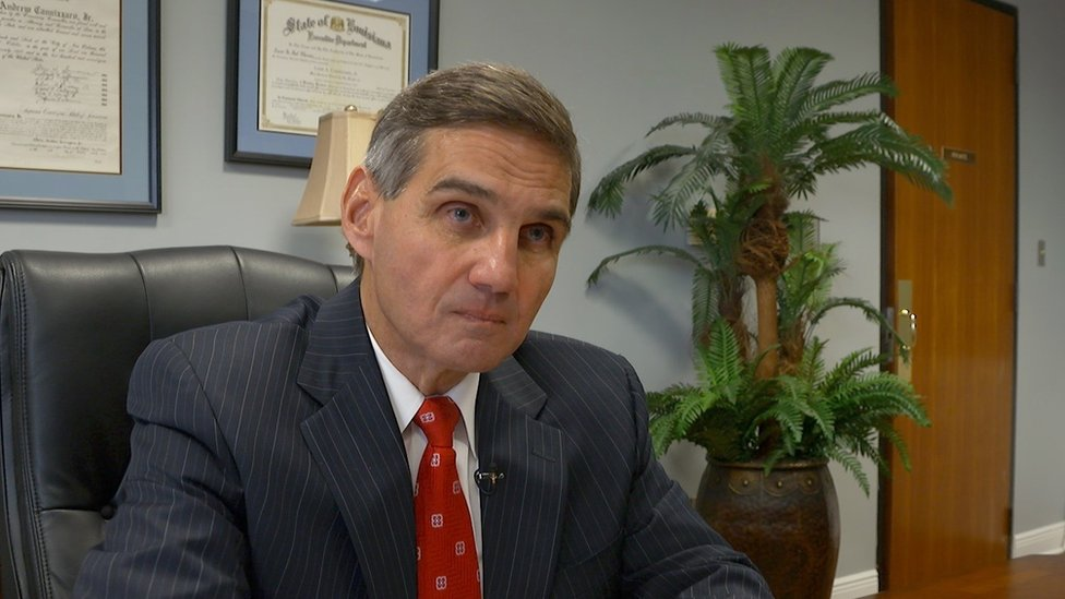Leon Cannizzaro has come under fire over the jailing of victims