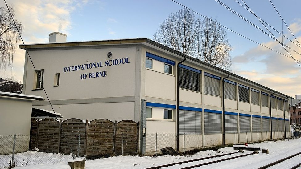 La escuela alemana en Berna, Suiza, en la que estudió Kim Jong-un.