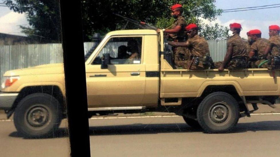 نشرت السلطات أفراد من الجيش في العاصمة